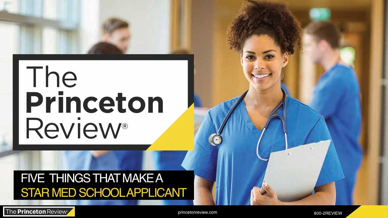 5 Things That Make a Star Med School Applicant webinar
