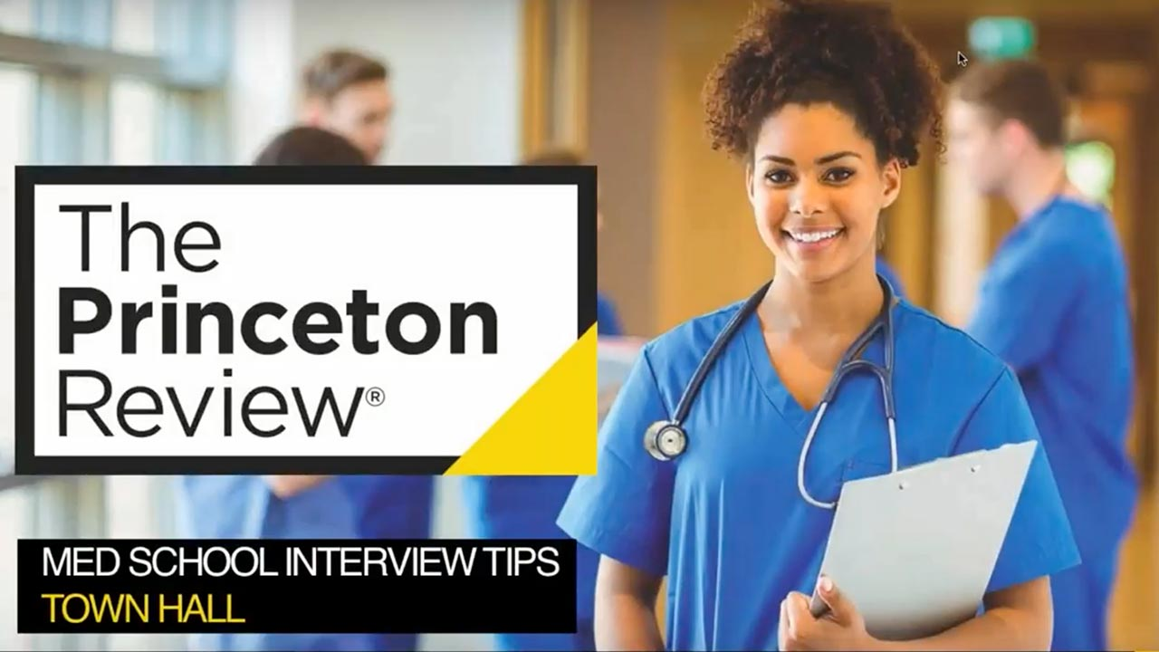 screenshot Med School Interview Tips – Town Hall Presentation