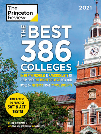 The Best 386 Colleges: 2021 Edition Book Cover
